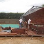 Abri de piscine à Berg
