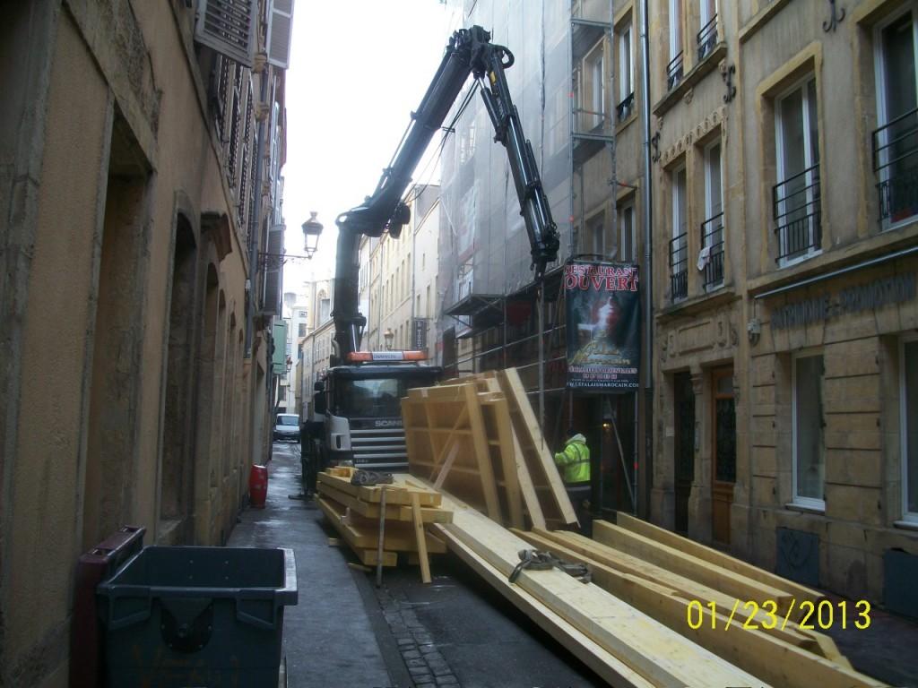 Rue des Huilliers à Metz