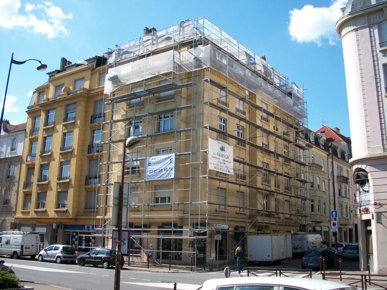 Rue Sébastien Leclerc à Metz (ensemble)