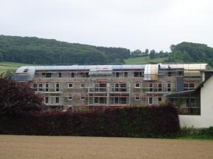 Diekirch luxembourg couverture zinc joint debout cintré